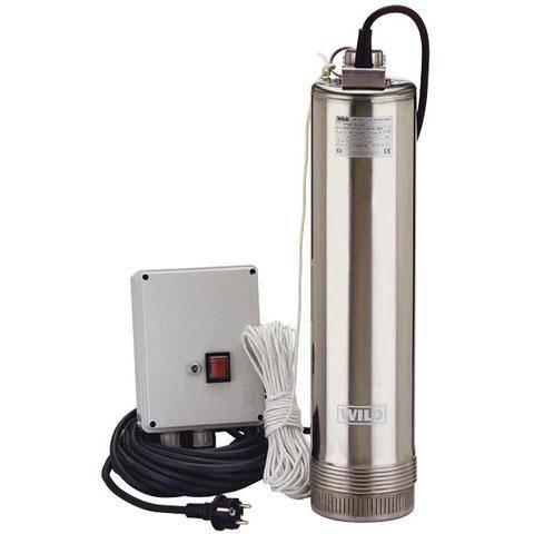Pompe à eau pour puits profonds