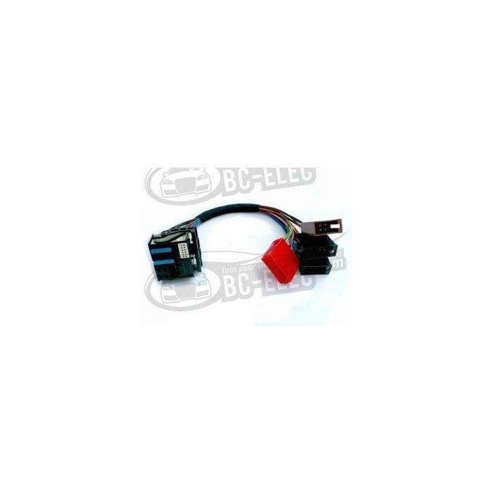 Adaptateur Iso 8 pin Iso 16 Pin RNS-E