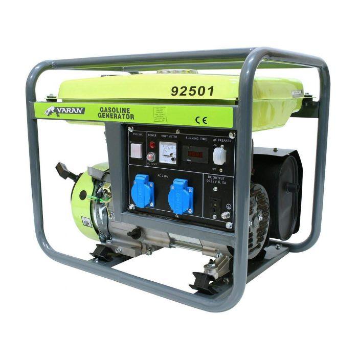 Groupe électrogène essence 2800W 2 x 230V 1 x 12VDC