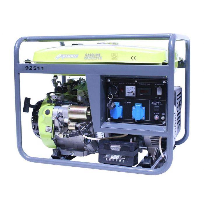 Groupe électrogène Essence 6.0 kW 2 x 230V 1 x 12VDC