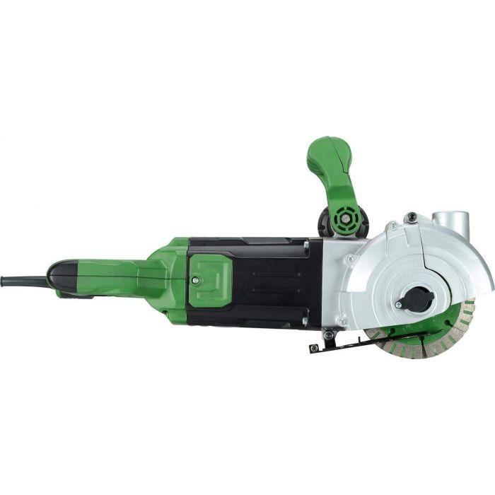 Rainureuse à matériaux 2400W 6500t/min à sec ou à l'eau, profondeur max 42mm, largeur max 40mm (incomplet)