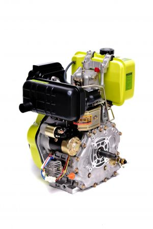 Moteur Diesel 10CV 418cc + Démarrage Electrique, Sortie cônique FG3