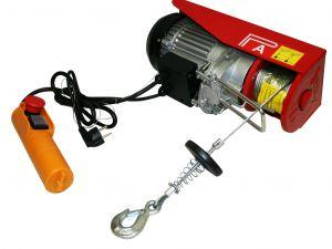 Treuil palan électrique 230V 200 / 400KG 950W avec télécommande